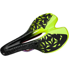 Supacaz Ignite Ti Zadel, neon yellow